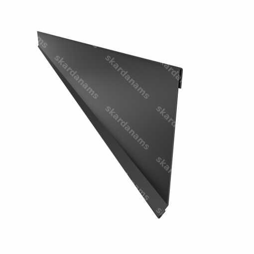 Vējmala no skārda - papildelementi jumtiem