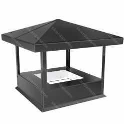 Dūmvada cepure tips 3. Skārda izstrādājums jumtiem.