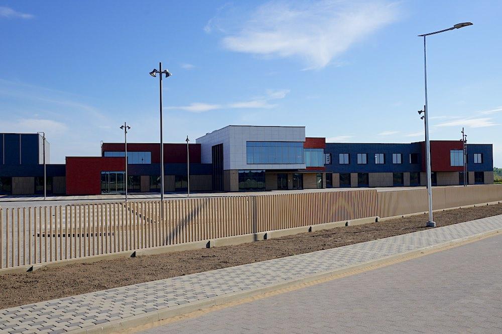 Britu starptautiskā skola. Izglītības, kultūras, sporta centrs pinķos.